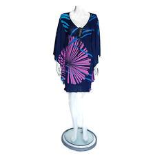 Matthew Williamson Fantastic Geometric Rays Loose Flowing Tunic Dress - 6