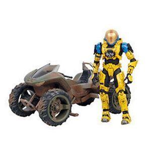 "Mcfarlane Toys Halo Mongoose Vehicle Boxed with Spartan EVA 5"" Video Game Figure"