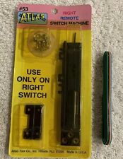 Vintage HO Scale Atlas Right Remote Switch Machine #53 Wire New Old Stock