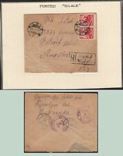 Lithuania 1932 cover Silale to Detroit . kn931