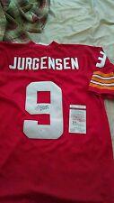 Sonny Jurgensen Signed Washington Redskins Throwback Jersey Proof JSA WP168225