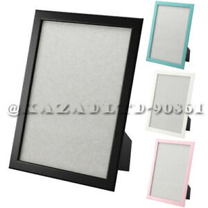 IKEA Fiskbo Photo Frame Picture Document Black Blue White Pink 10x15 13x18 21x30