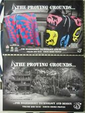 Volcom surf 2008 Proving Grounds 2 sided poster New Old Stock Mint Condition