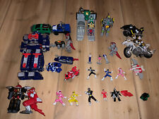 Lot of Vintage MMPR Mighty Morphin Power Rangers PVC Mini Figures Bandai 1994