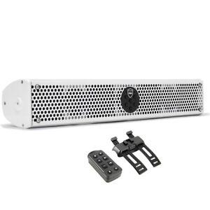 Wet Sounds STEALTH 6 ULTRA HD-W Marine Audio Amplified Soundbar w/ Bluetooth NEW