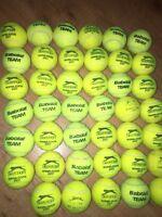 17 Used Tennis Balls