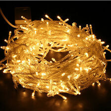300LED 30M Warm White String Fairy Lights Christmas X'mas Tree Party Outdoor DEC