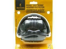 Browning 12627 Black Midas Electronic Hearing Protector NRR 28 dB Ear Muffs