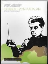 DVD Herbert von Karajan `Mussorgsky - Bilder einer Ausstellung` Neu/New Berliner