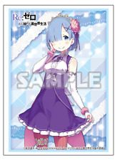 Re:Zero Starting Life Rem Birthday Ver. Card Game Limited Character Sleeves
