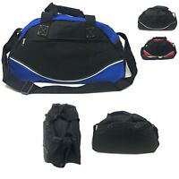 Smile Duffle Duffel Bag Travel Sports Gym School Workout Luggage Carry On 17""
