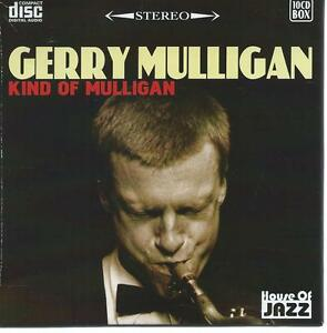 10 CD box - GERRY MULLIGAN - KIND OF MULLIGAN - SAX JAZZ er6