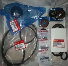 Honda / Acura - Genuine Timing Belt Water Pump Kit w/ Tensioners