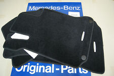 Mercedes Benz C63 AMG C350 C300 C250 Black Carpet Floor Mats 20468021489F87 W204