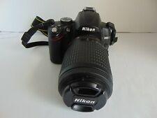 Nikon D D5000 12.3MP Digital SLR Camera - Black (Kit w/ AF-S DX VR 55-200mm Lens