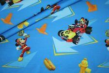 Walt Disney Jersey Tissu Mickey Mouse Donald Duck 1 m
