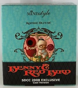 MIND STYLE KATHIE OLIVAS BENNY AND RED BIRD SDCC 2008 EXCLUSIVE COOL VERSION