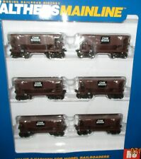 Ho Walthers 24' Minnesota Ore Car 6 pack Chicago & North Western Ry 910-58017