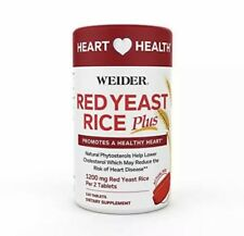 WEIDER GLOBAL NUTRITION, RED YEAST RICE 120 CT