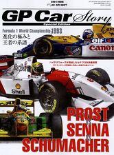 [BOOK] GP Car Story Special Edition Ayrton Senna Alain Prost Michael Schumacher