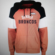 NFL Denver Broncos Majestic Women's Hot Route Full-Zip Hoodie - SIZES XL & 2XL