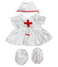 """Teddy Bear Clothes Nurse outfit fit 15"""" 16"""" build a bear factory teddy bears"""