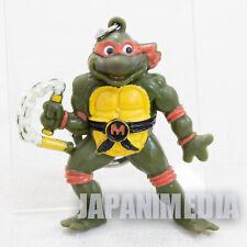 Retro RARE TMNT Teenage Mutant Ninja Turtles Michelangelo Figure Key Chain 1994