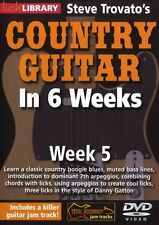 LICK LIBRARY Steve Trovato's COUNTRY GUITAR In 6 WEEKS Learn Danny Gatton DVD 5
