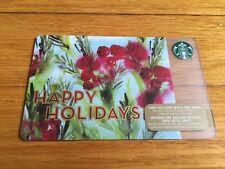 "Canada Series Starbucks ""HAPPY HOLIDAYS 2015"" Gift Card - New No Value"