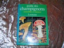 Guide des Champignons Comestibles et Veneneux Larousse PB French Language