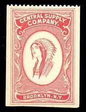 USA Cinderella - Central Supply Company - Brooklyn, NY - Depicting Indian