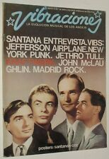 VIBRACIONES 33 / MAY 1977 KRAFTWERK JEFFERSON AIRPLANE SANTANA SHAKTI NY TV PUNK