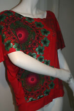 BNWT Desigual Red Olivia Top Size Small