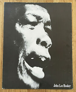 RARE 1970s JOHN LEE HOOKER VINTAGE RECORD STORE PROMO POSTER DISPLAY BLUES MUSIC