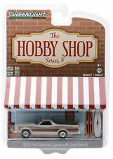 1973 Ford Ranchero Squire Woody + Surfboards *** Greenlight Hobby 1:64 NEU