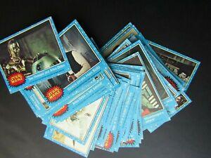 Topps 1977 Star Wars Series 1 Blue Border Cards  Variants (e33)