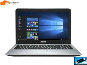"ASUS VivoBook A555UA 15.6"" Intel Core i7-6500U @2.50GHz 8GB RAM 256GB Win 10 Pro"