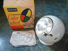 Penetray Deluxe Motorized Color Wheel For Parts Light OK Not Turning w/ Box 2