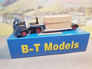 DB09 Base Toys (B-T Models) Commer QX Low Loader Pickfords