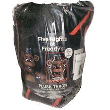 Five Nights at Freddy's Quarter Slice I Survived Throw Blanket 46x60 Soft Plush