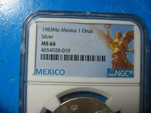 1983 MEXICO LIBERTAD NGC 67 VERY SCARCE!!