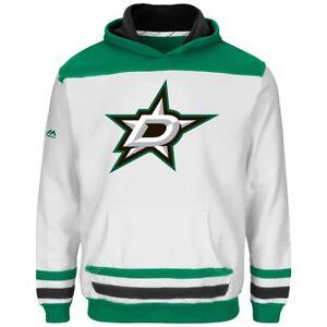 "Dallas Stars Youth Majestic NHL ""Lil' Double Minor"" Hooded Sweatshirt"
