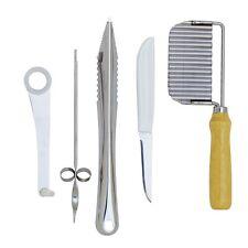 Norpro Stainless Steel Garnishing Tool Set, 5 Pcs - 0300