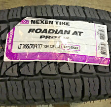 4 New LT 265 70 17 LRE 10 Ply Nexen Roadian AT Pro RA8 Tires