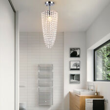 Modern Crystal Chandelier Lighting Hanging Ceiling Lamp Pendant Light Fixtures