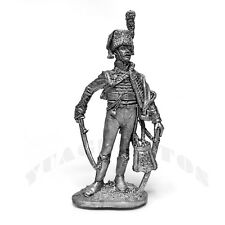 "Tin Soldier ""Officer of Guards Horsemen, France 1805-15 year"" 1/32 54mm"