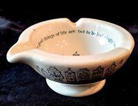 Vintage MERK ADVERTISING PHARMACY Pestle Ceramic
