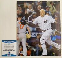 MLB New York Yankees Raul Ibanez Autographed 8x10 Photo Signed With Beckett COA