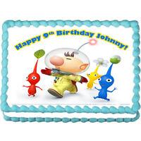 "Pikmin Olimar edible cake image cake topper cake decoration  7.5""x10"""