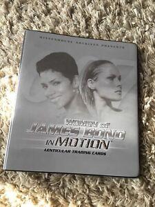 Women of James Bond, album lenticular set, M cards, Jinx set, Bond girls forever
